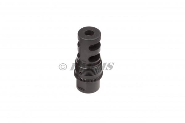 ASE-UTRA BORE-LOCK .30 - .338 SD-Mündungsbremse M18x1 Steyr Sako Blaser