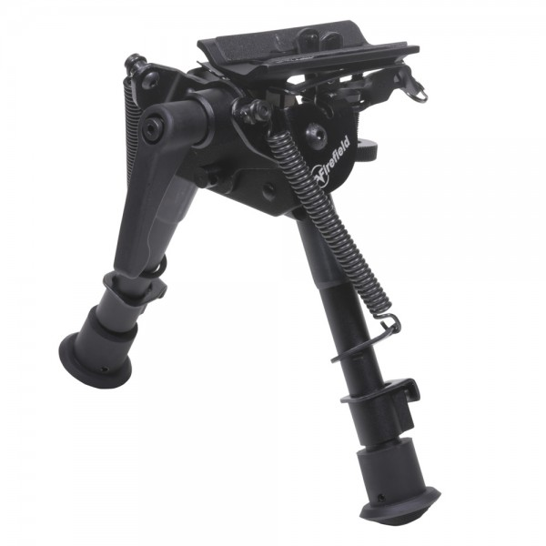 """FIREFIELD Stronghold Bipod 6-9"""" + Picatinny Adapter"""