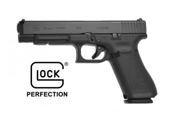 GLOCK 34 GEN5 MOS 9mm Luger