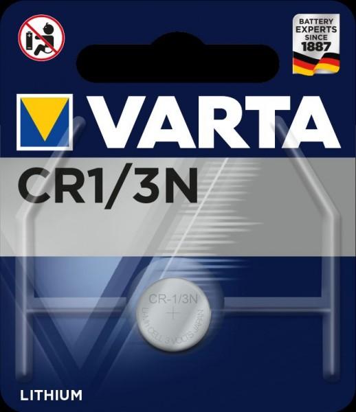 VARTA CR1/3N Lithium Knopfzelle 3 Volt 1Stk/Pkg