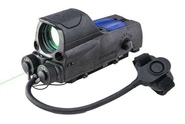 MEPRO MOR™ PRO M&P 2.2 MOA Bullseye / GREEN Visible Laser + IR Laser