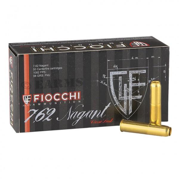 FIOCCHI 7,62 Nagant 6,35gr/98grs FMJ 50 Stk/Pkg