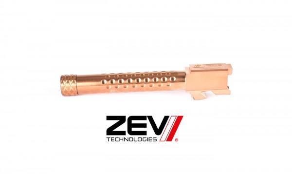 ZEV Burnt Bronze Gewinde Matchlauf Glock 17 GEN1-4 9X19