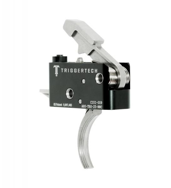 TRIGGERTECH Adaptable AR15 Trigger SS Curved
