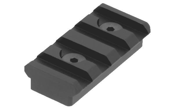 UTG® PRO® Picatinny Rail 4 Slots M-LOK® BLACK