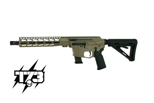 TACTICAL 73 TAC-9 PCC Side-Charging 9X19 FDE 10,5''