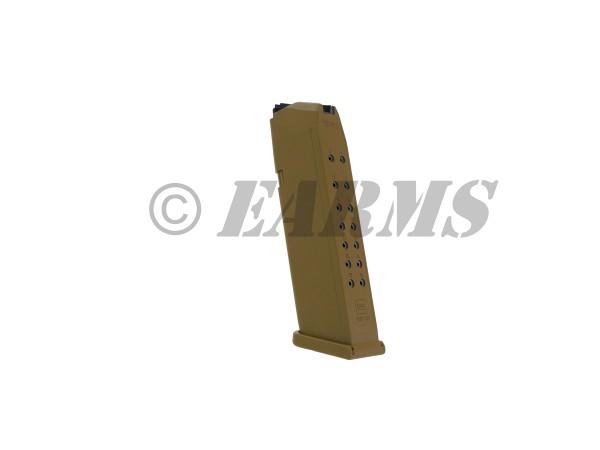 GLOCK 17,19,19X,26,34 Magazin 17 Schuss FDE 9mm Luger
