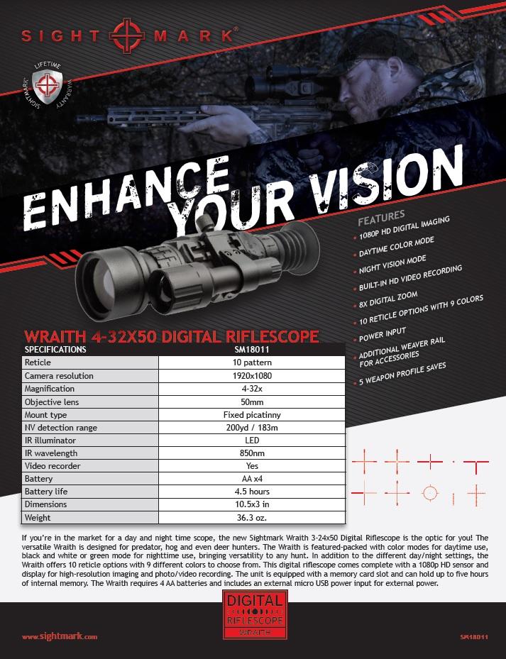 SIGHTMARK-Wraith-HD-4-32x50