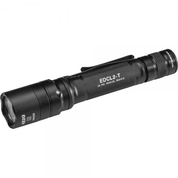 SUREFIRE EDCL2-T Dual-Output LED Everyday Carry Flashlight EDCL2-T