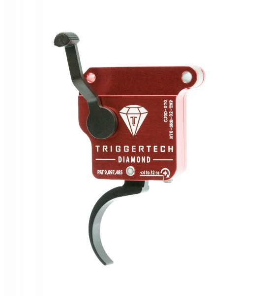TRIGGERTECH Rem700 Diamond Pro* Black Curved Clean