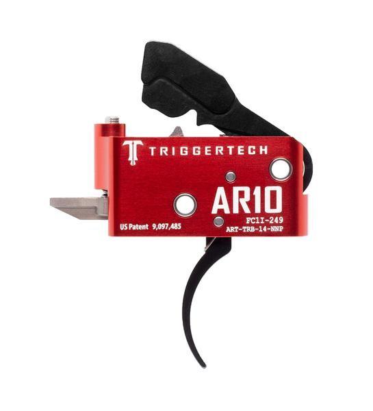 TRIGGERTECH Diamond AR-10 Black Curved PRO*