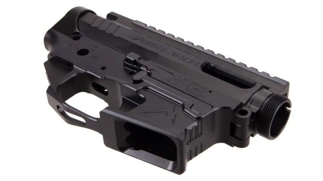 RAINIER-ARMS-AR-15-9mm-Ambi-Billet-GLOCK-Receiver-Set-MIL-SPEC