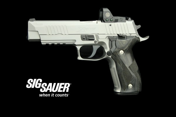 SIG SAUER X-FIVE IPSC PRODUCTION OPTIC DIVISION 9mm Luger + ROMEO 1 Reflexvisierung