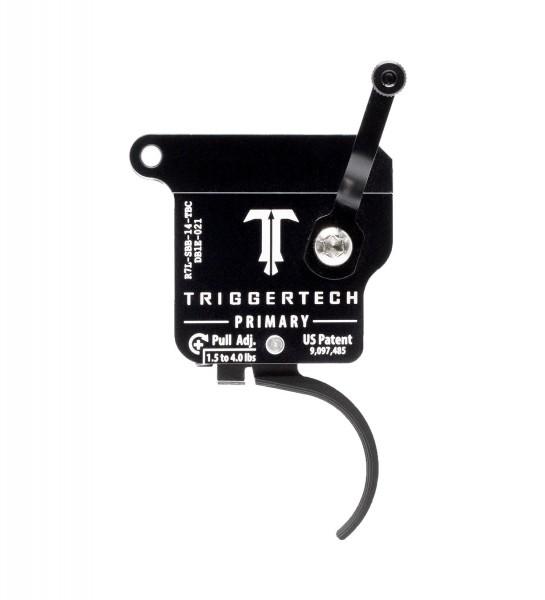TRIGGERTECH Rem700 Primary Black Curved Left