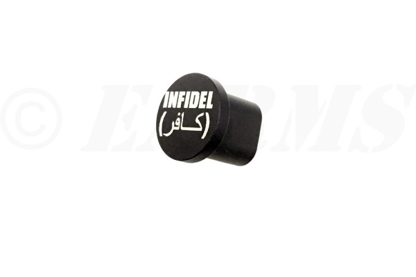 TACTICAL SUPPLY DEPOT '' INFIDEL '' AR-15 Extended Magazine Release Button