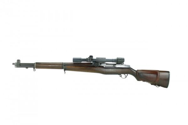 SPRINGFIELD U.S. GARAND M1D .30-06 SNIPER RIFLE WK2 ARSENAL
