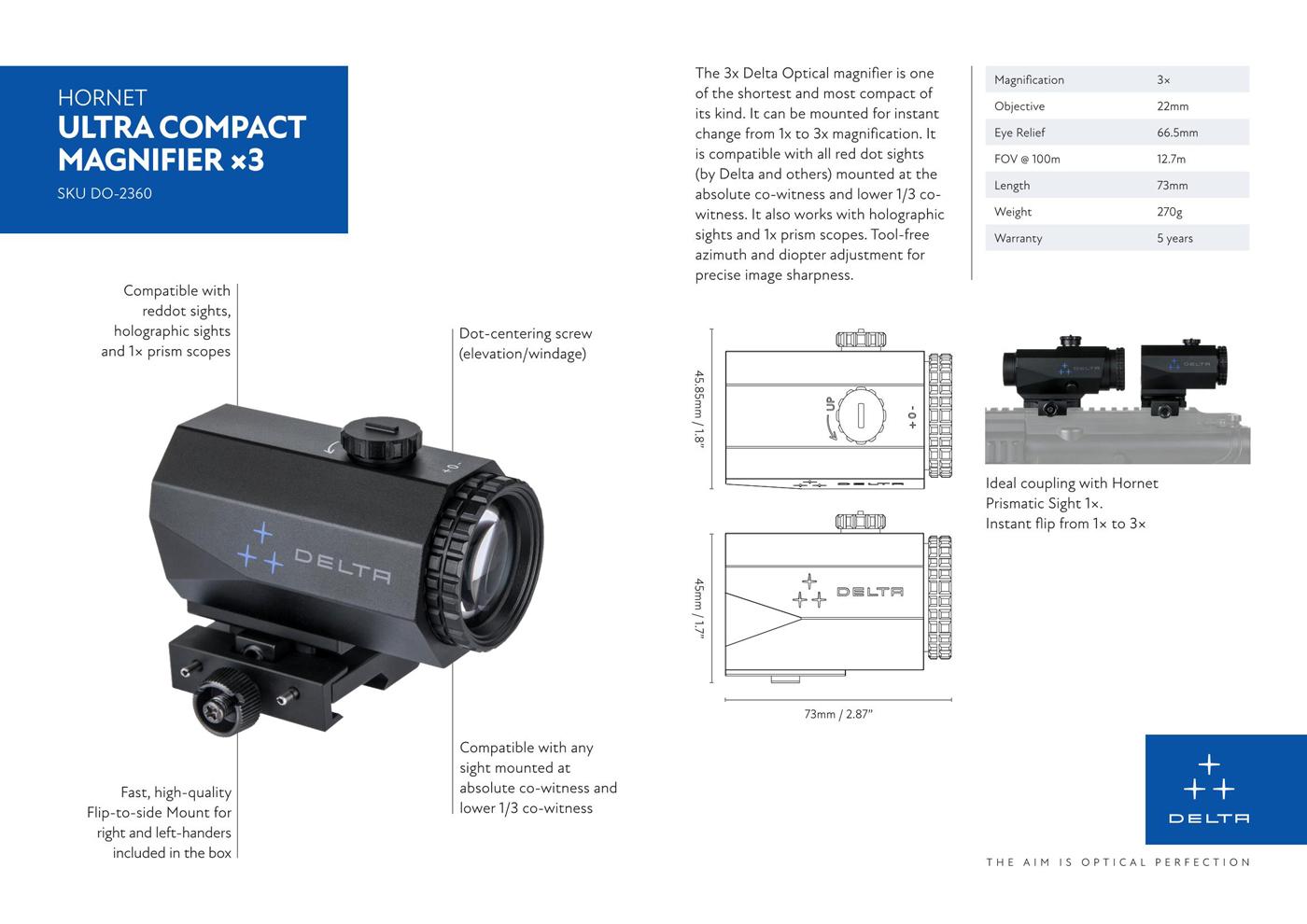 DELTA-Hornet-3x-QD-Magnifier-2