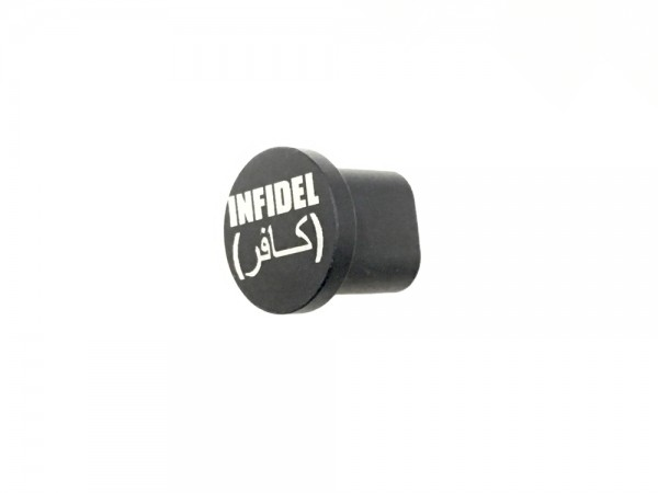 TACTICAL SUPPLY DEPOT AR15 Extended Magazine Release Button '' INFIDEL''