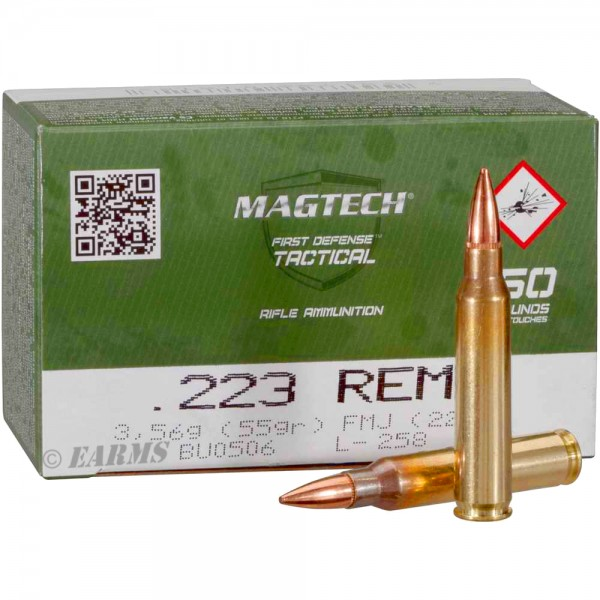 MAGTECH .223 Rem 55grs FMJ 50 Stk/Pkg