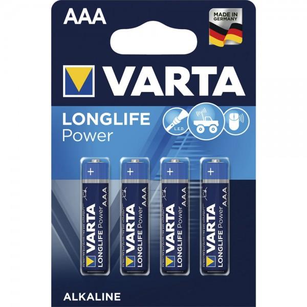 VARTA Micro AAA Longlife 1,5 Volt 4Stk/Pkg