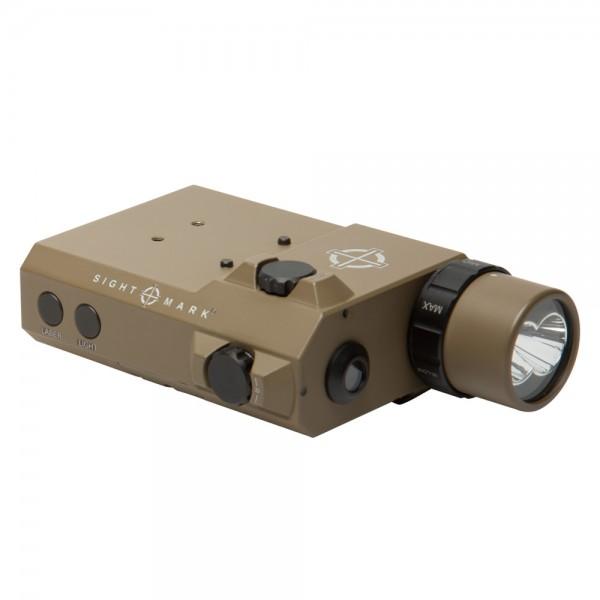 SIGHTMARK LoPro Flashlight Visible/IR Green Laser Sight Combo FDE