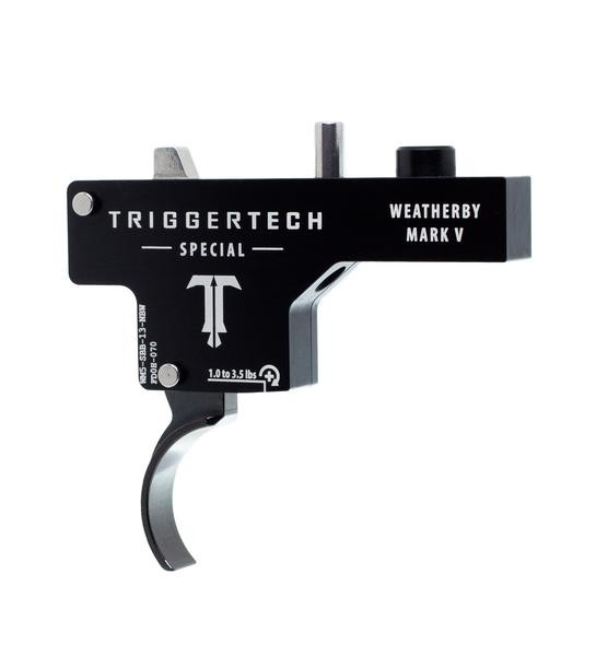 TRIGGERTECH Weatherby Mark V Special Black Curved