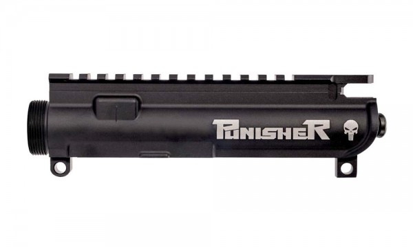 """ANDERSON ARMS AR15 / M16 M4 Multi Caliber Upper Assembled """"PUNISHER SKULL"""""""