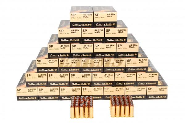 S&B .44 MAGNUM TM 240grs 50 Stk/Pkg