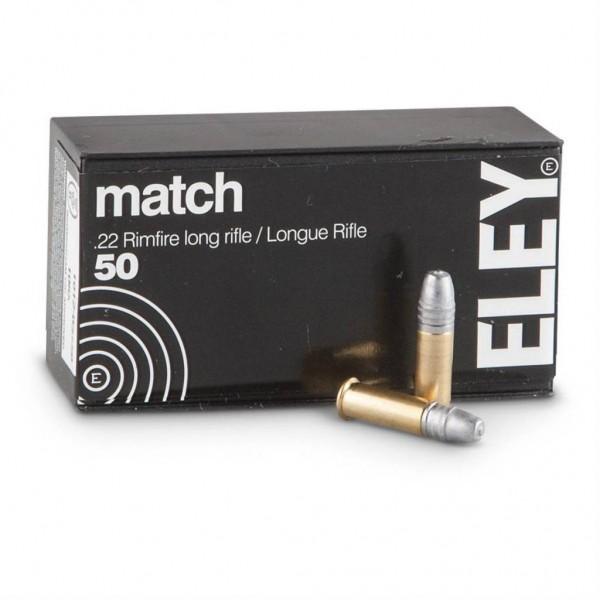 ELEY .22lr * MATCH * 40grs 50 Stk/Pkg
