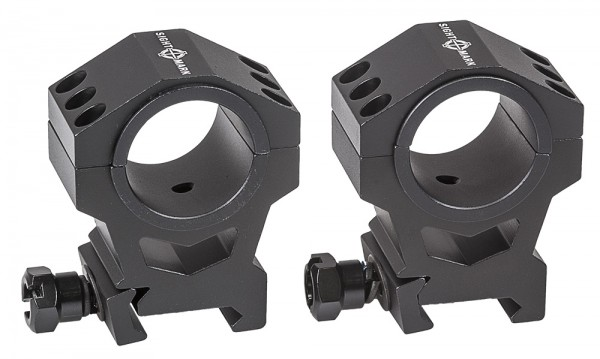 SIGHTMARK Tactical Mounting 30mm/25,4mm Rings HIGH