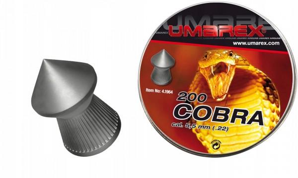 UMAREX Diabolo Kal. 5,5 COBRA 1,02g 200 Stk/Pkg