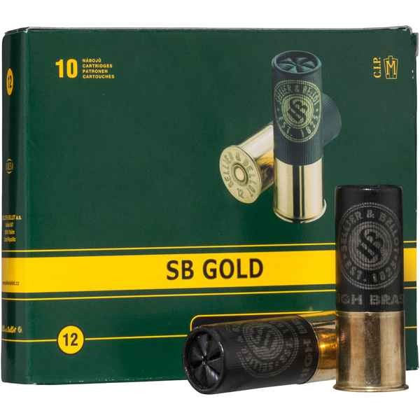 S&B 12/70 SB Gold 36g 2,5mm 10 Stk/Pkg