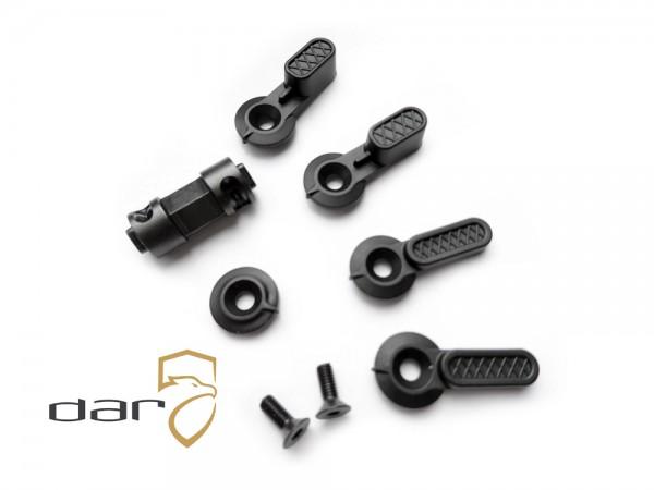 DAR Ambidextrous Safety Selector Kit 90/45 Grad AR15 / AR10