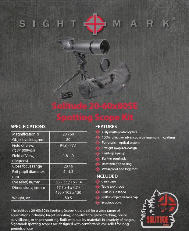 SIGHTMARK-Solitude-20-60x80SE-Spotting-Scope-Kit