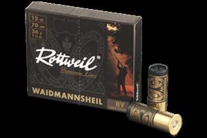 ROTTWEIL 12/70 Waidmannsheil HV 36g 3,2 mm 10 Stk/Pkg