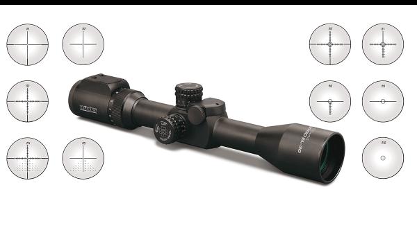 KONUSPRO® EL-30 4-16X44 LCD Rifle Scope