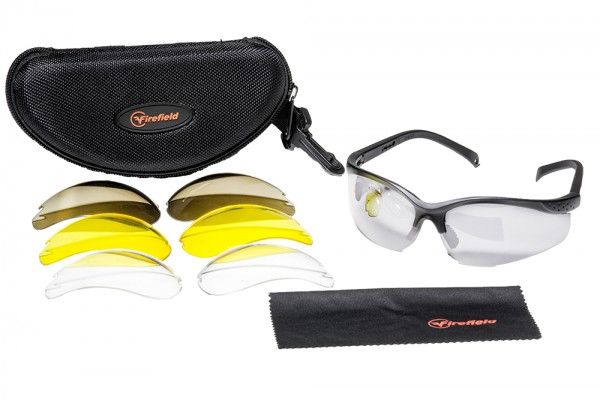 FIREFIELD Performance Shooting Glasses SET