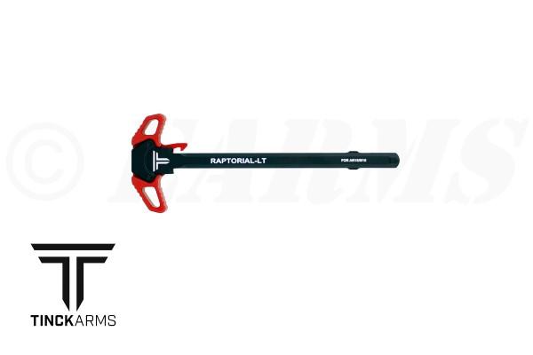 TINCK ARMS AR-15 RAPTORIAL-LT™ CHARGING HANDLE RED