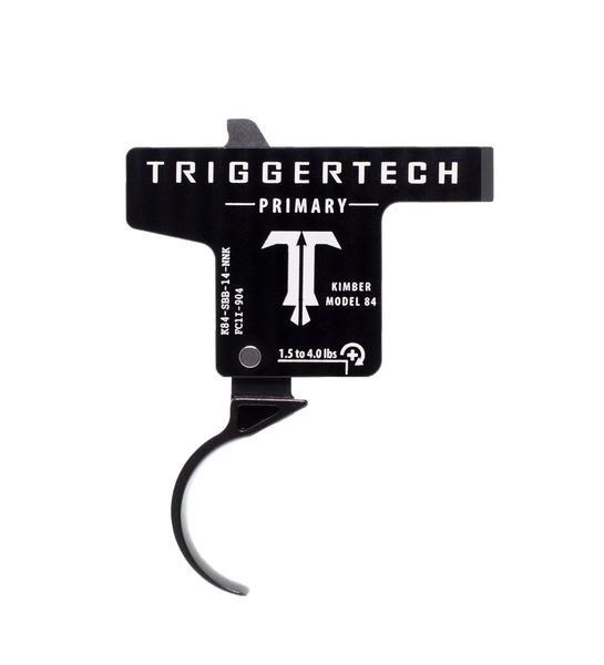 TRIGGERTECH Primary Kimber Model 84 / 84L / 8400 Black Curved
