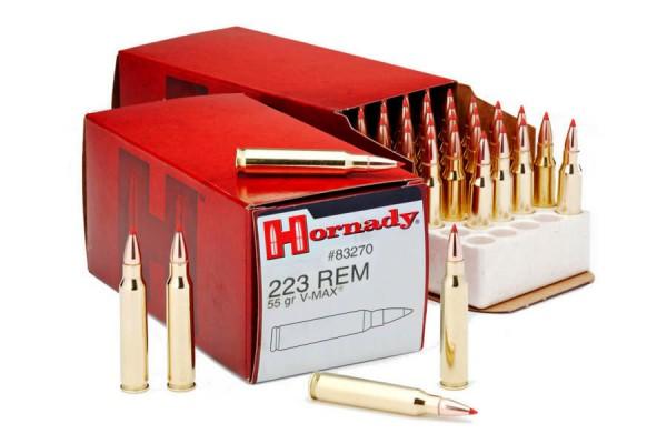HORNADY .223 REM V-MAX® 55grs 50 Stk/Pkg