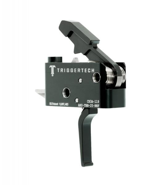 TRIGGERTECH Adaptable AR-15 Trigger Black Flat