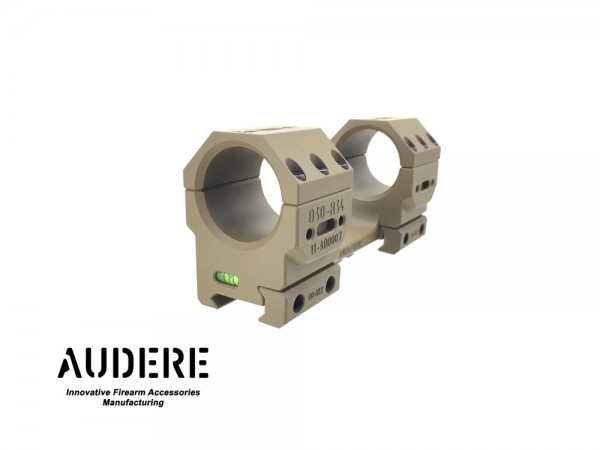 AUDERE Adversus™ Gen2 Scope Mount Ø34 H38 0MOA FDE