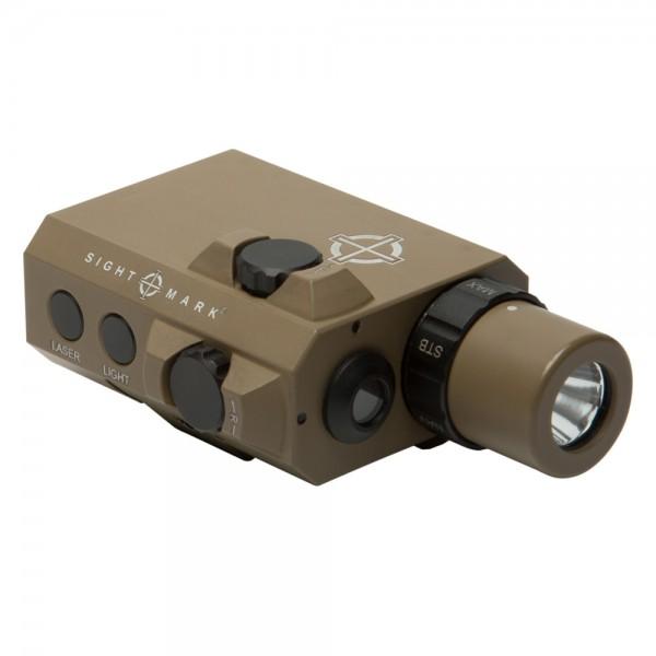 SIGHTMARK LoPro Flashlight / Green Laser Mini Combo FDE