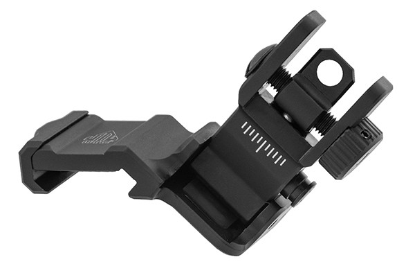 UTG 45° BACK-UP Flip Up Rear Sight Ultraslim