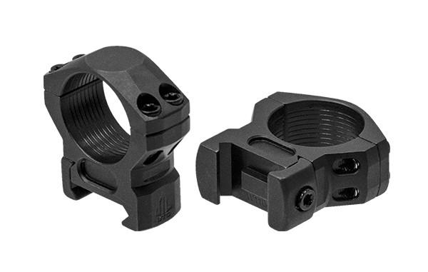 UTG® Steel ® High Density Ringmontage 1 Zoll LOW für Weaver / Picatinnyschienen