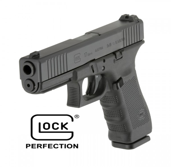 GLOCK 17 GEN4 EDITION Front Serration 9mm Luger