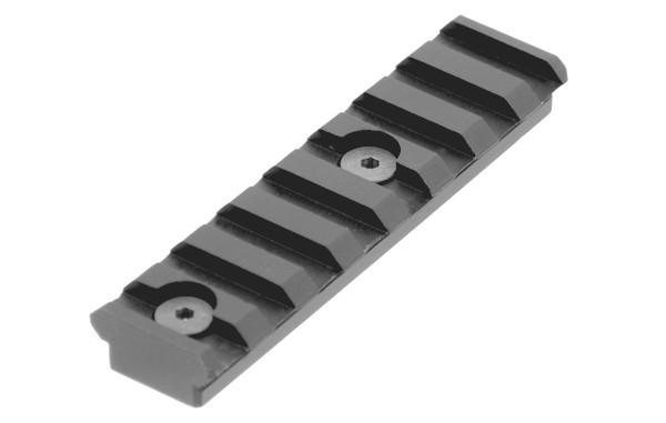 UTG PRO® Picatinny Rail 8 Slots KeyMod BLACK