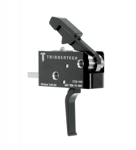 TRIGGERTECH Combat AR-15 Black Flat