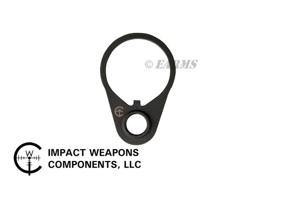 IMPACT WEAPONS COMPONENTS AR15 Sling Swivel QD Receiver Steel End Plate