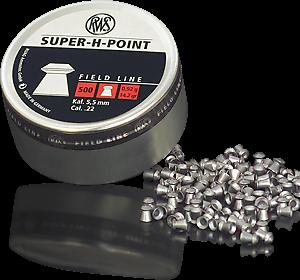 RWS Diabolo Kal. 5,5 Super H-Point 0,92g 500 Stk/Pkg